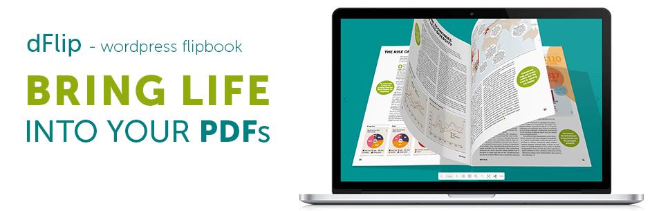 dFlip 3D Flipbook banner