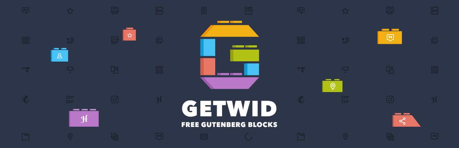 Getwid banner