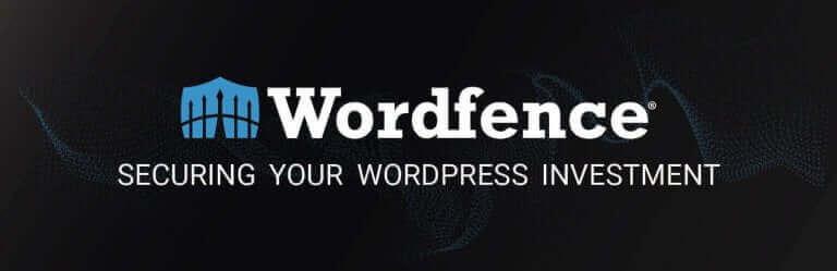 Wordfence banner