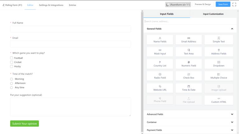 Advanced Custom Fields screenshot