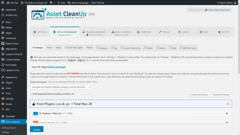 Asset CleanUp screenshot